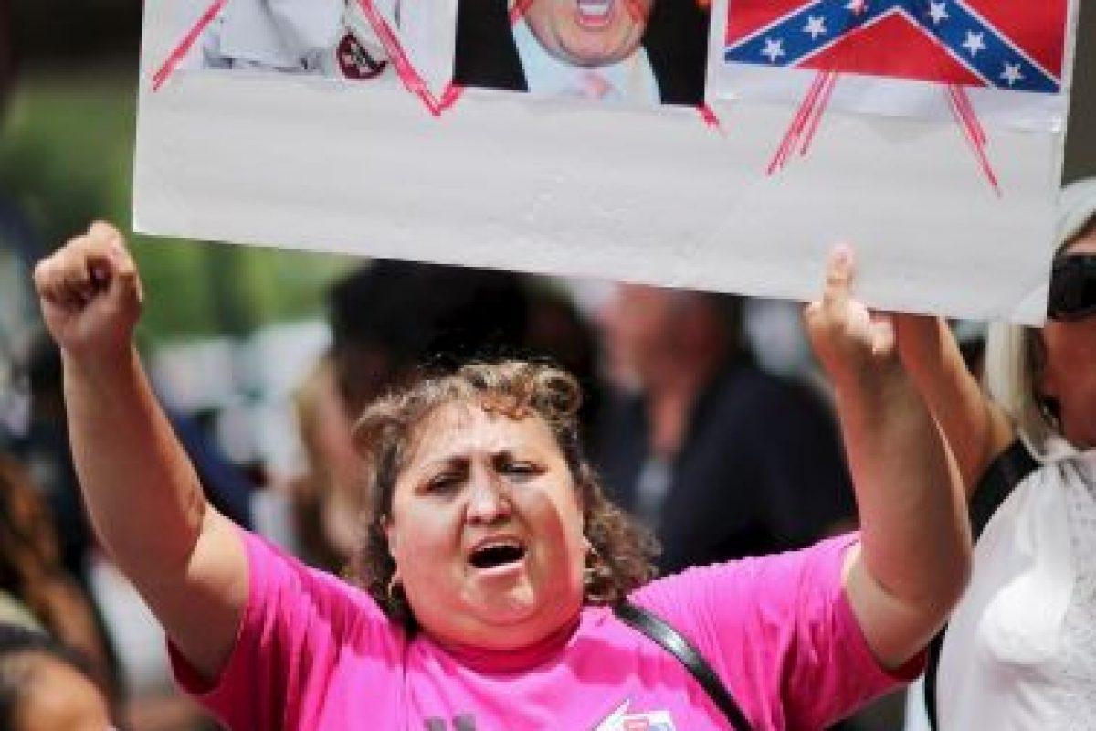 """Esto expresó Trump cuando """"El Chapo"""" escapó de prisión durante el fin de semana. Reprochó a sus detractores y pidió que se disculparan. Foto:Getty Images. Imagen Por:"""