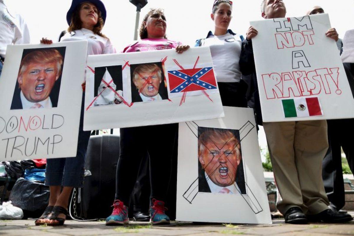 Esto fue lo que expresó este día Martin J. Walsh, alcalde de Boston, quien rechazó la presencia del republicano. Foto:Getty Images. Imagen Por: