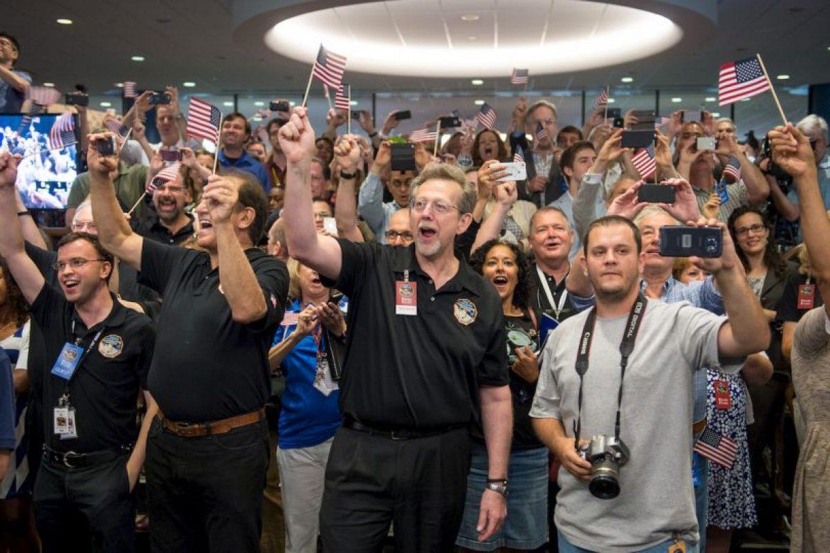 1. El día de ayer la NASA compartió impresionantes imágenes de Plutón. Foto:Getty Images. Imagen Por: