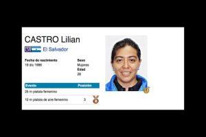 Lilian Castro. Se hizo con el bronce para El Salvador en tiro, en la especialidad de 10 metros, pistola de aire Foto:Vía toronto2015.org. Imagen Por:
