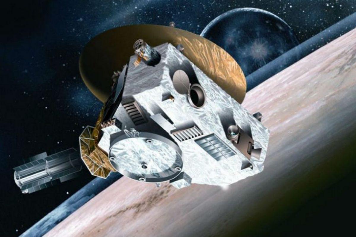 """""""New Horizons"""", la sonda que sobrevoló Plutón. Foto:NASA. Imagen Por:"""