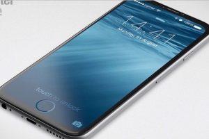Otros seguidores de la marca imaginan al móvil con una pantalla más amplia e incluso sin botón de inicio Foto:Tumblr. Imagen Por: