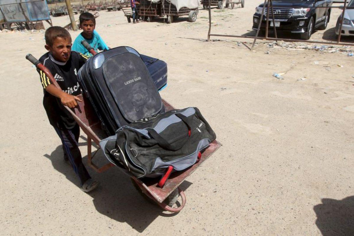 """Según el periódico """"International Business Times"""", ISIS recluta niños a partir de los 10 años. Foto:AFP. Imagen Por:"""