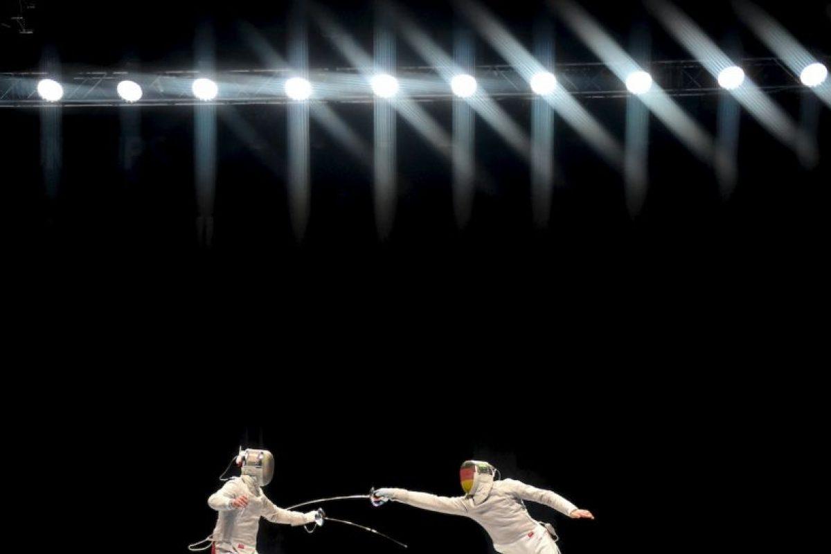 Campeonatos del Mundo de Esgrima 2015 llevados a cabo en Alemania. Foto:AFP. Imagen Por: