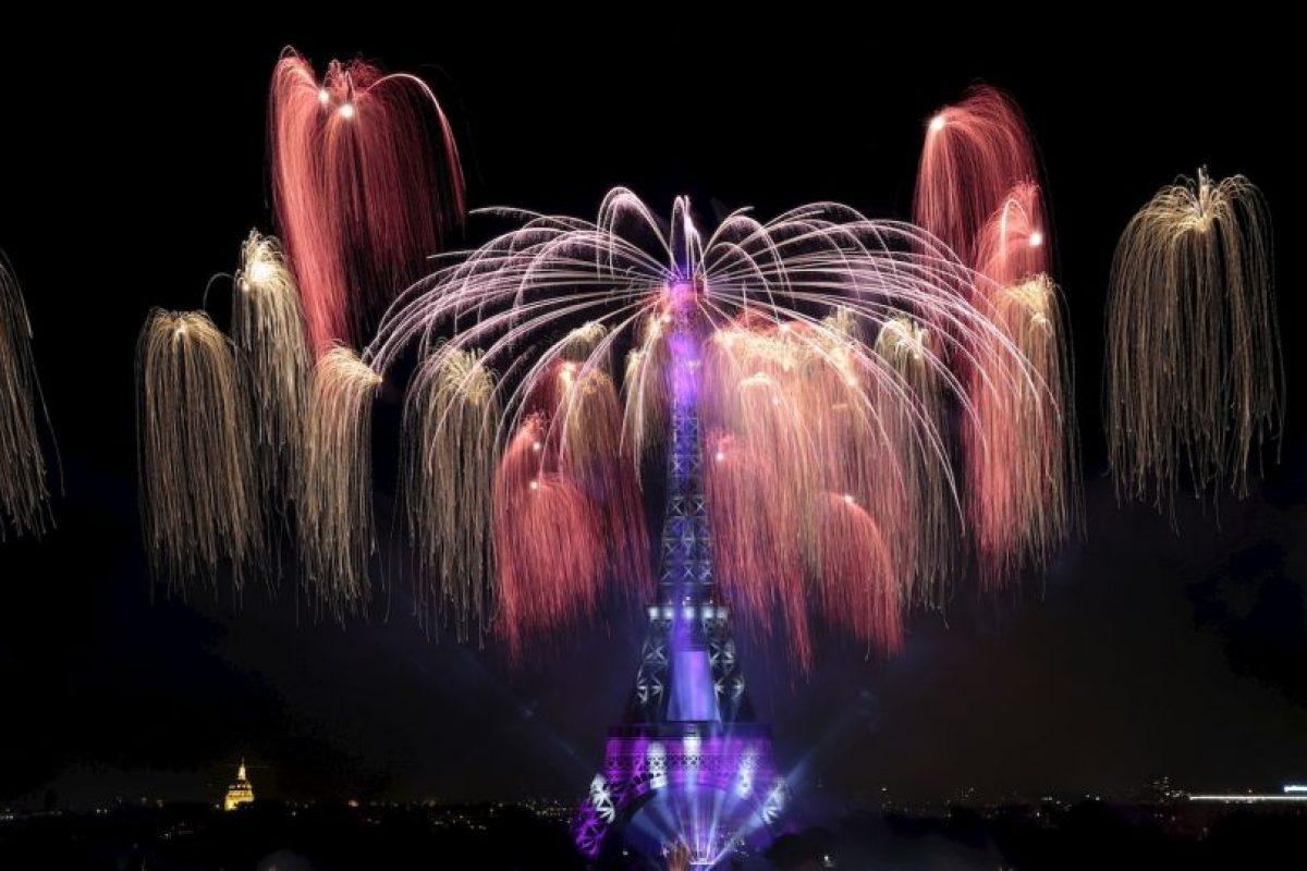 Celebraciones del Día de la Bastilla en Francia. Foto:AFP. Imagen Por: