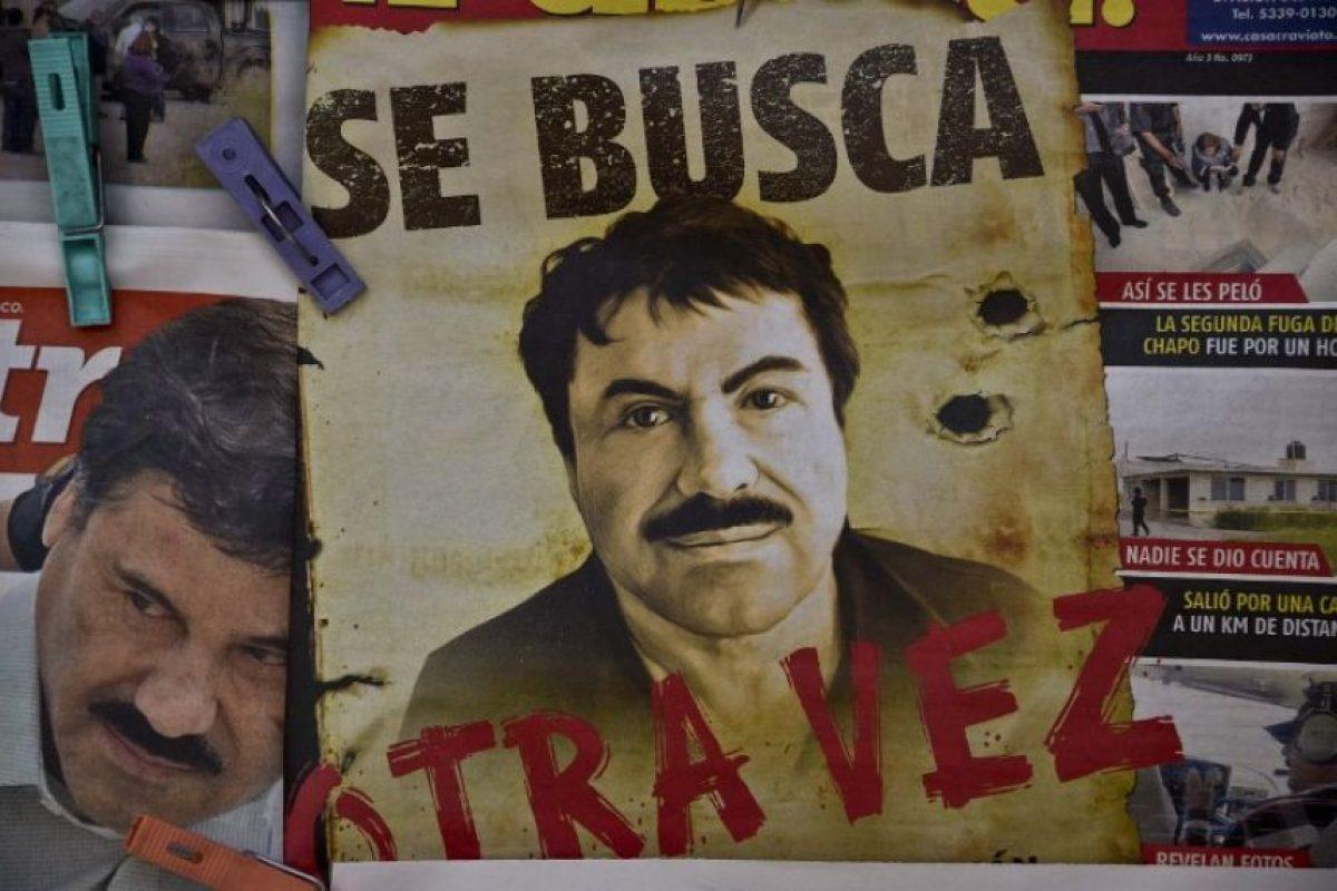"""Se fuga de nuevo el narcotraficante """"El Chapo"""" Foto:AFP. Imagen Por:"""