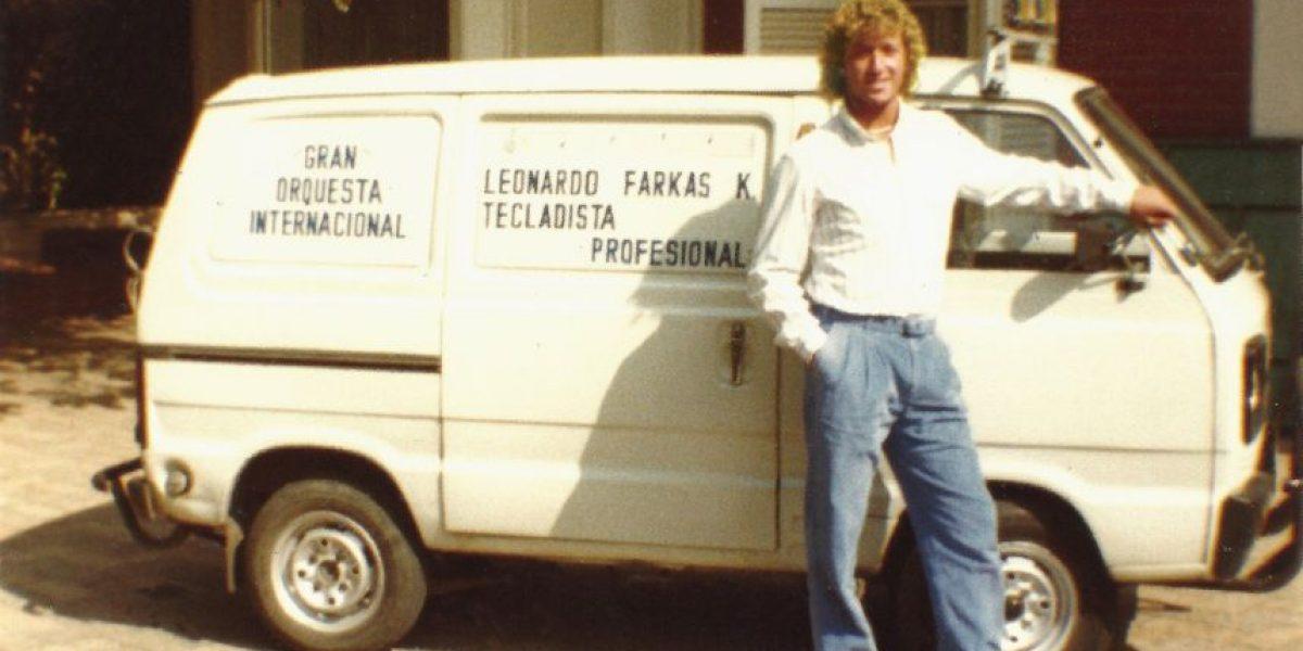 Con jeans y zapatillas: así era Farkas antes de los millones