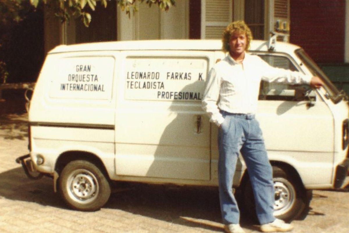 Leonardo Farkas y su look antes de ser millonario Foto:Facebook. Imagen Por: