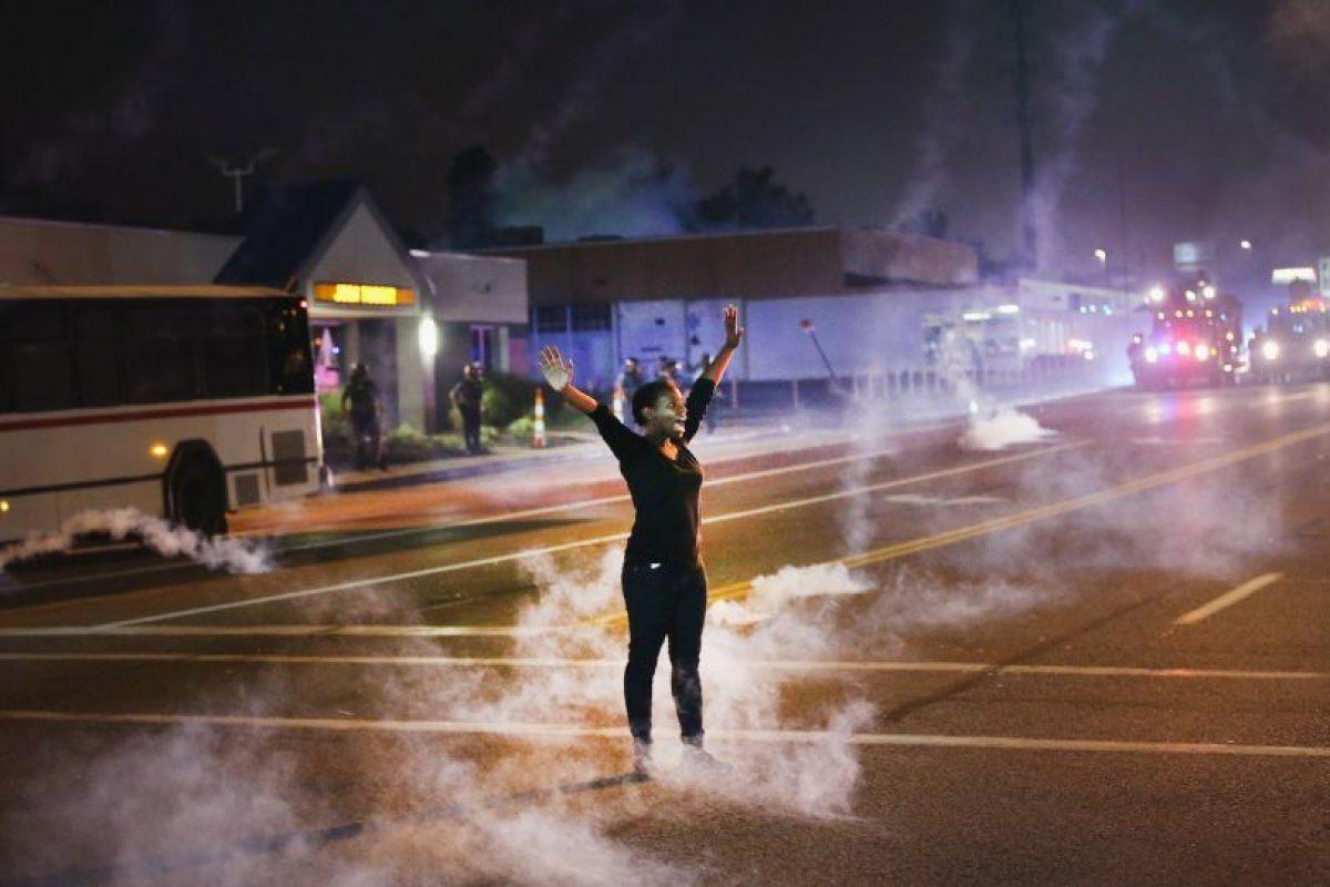 """1. Según Human Rights Watch (HRW), """"la brutalidad policial es una de las violaciones de los derechos humanos más grave, perdurable y controversial de Estados Unidos"""". Foto:Getty Images. Imagen Por:"""