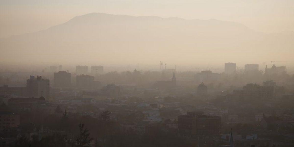 Altos índices de contaminación en El Bosque, Cerro Navia y Pudahuel