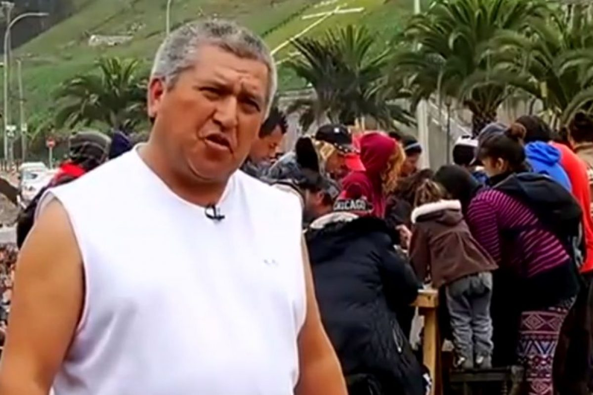"""El """"Farkas pobre"""" Foto:Chilevisión. Imagen Por:"""