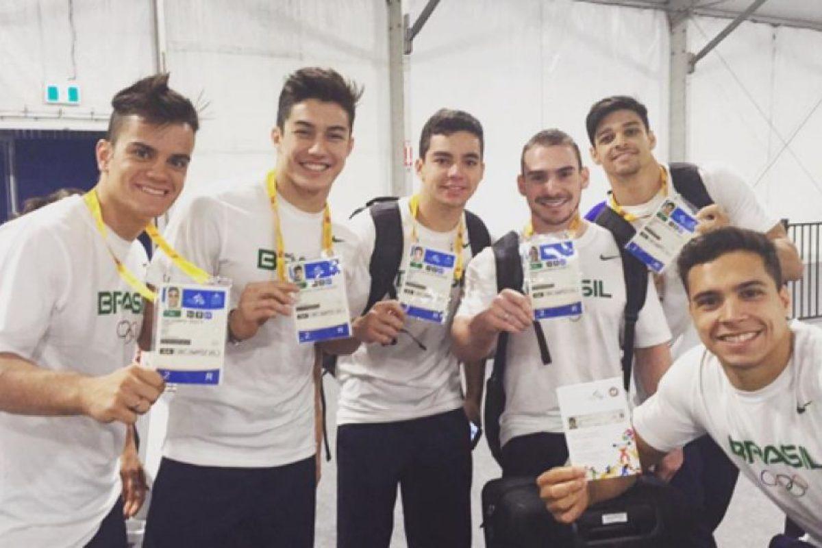 6. Racismo entre los gimnastas brasileños Foto:/instagram.com/arthurnory. Imagen Por: