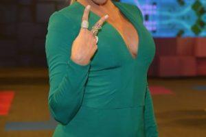 La actriz venezolana conquistó a sus fans con este vestido verde. Foto:Getty Images. Imagen Por: