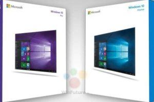 Las cajas de Windows 10. Foto:Twitter. Imagen Por: