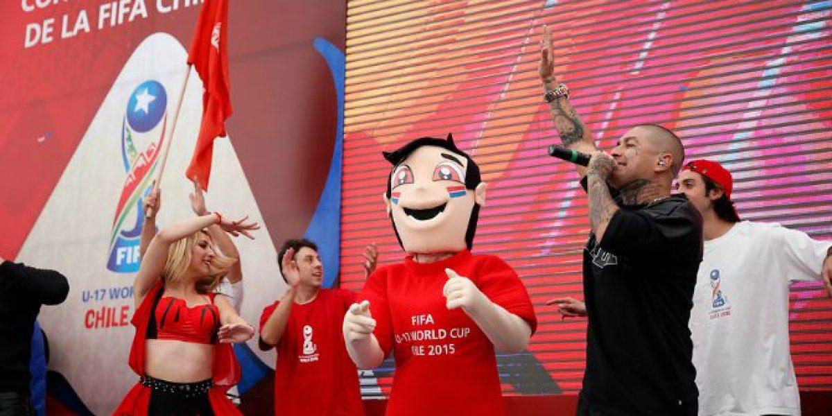 Este es el himno oficial del Mundial Sub17 de Chile 2015 creado por Dj Méndez