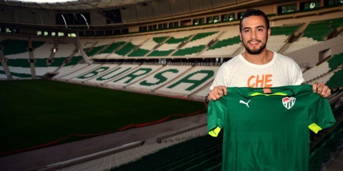 Cristóbal Jorquera parte de Italia y vuelve al fútbol turco