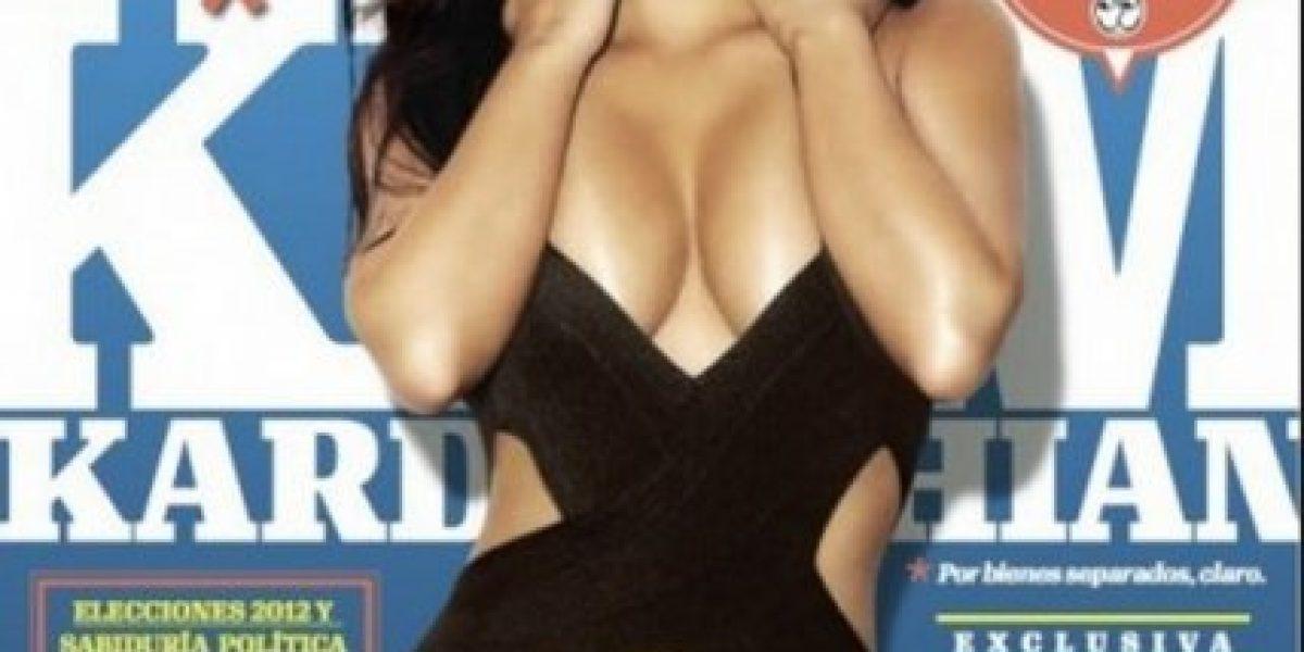 Sin maquillaje y sin complejos, Kim Kardashian se confiesa con Vogue