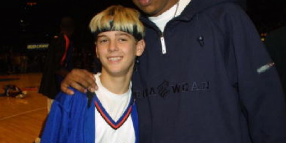FOTOS: Así está Aaron Carter 15 años después de su éxito en el pop