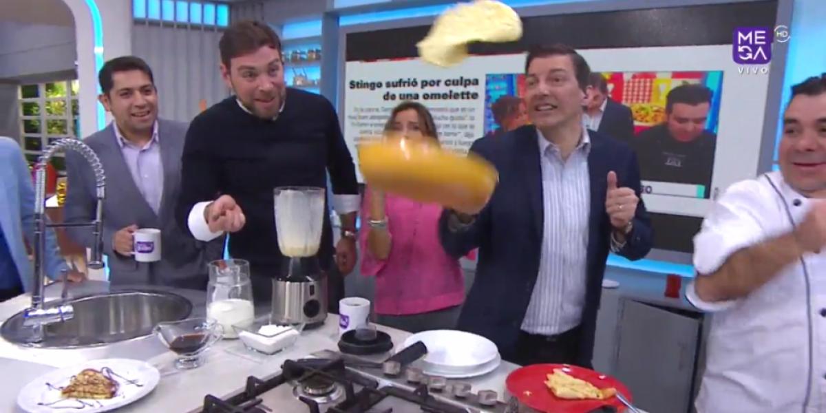 Daniel Stingo tuvo su revancha en la cocina tras pataleta por omelette