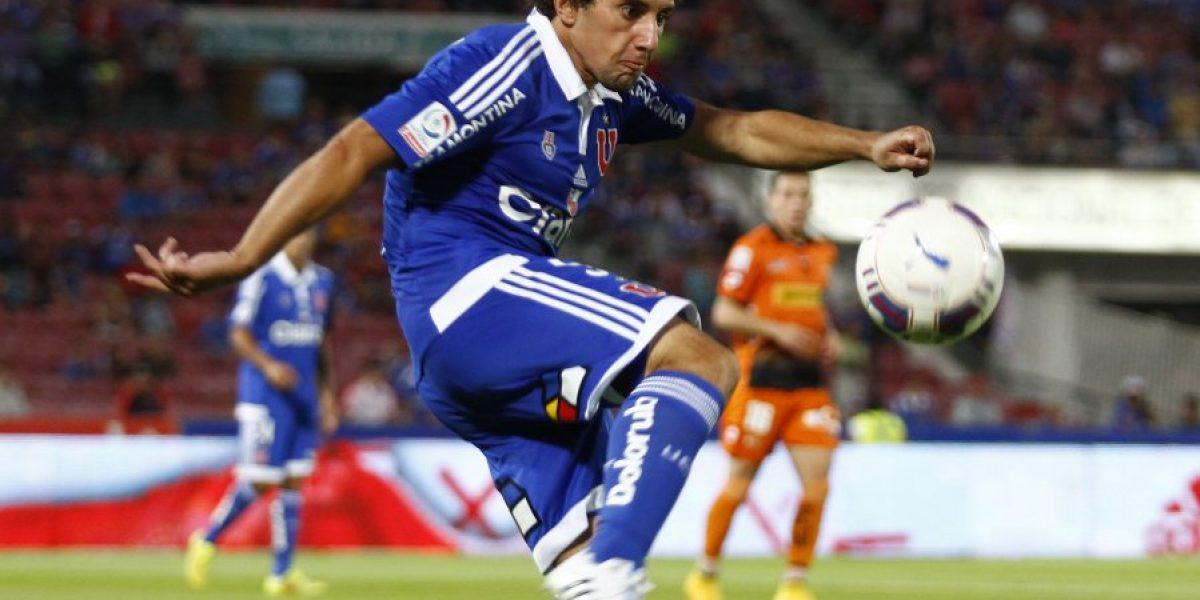 Mathías Corujo tras renovar con la U: