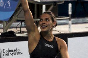 3. El uniforme de la nadadora mexicana Fernanda González Foto:Getty Images. Imagen Por:
