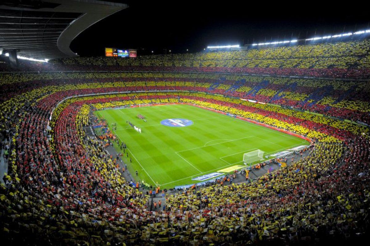 Camp Nou (Barcelona, España) Foto:Getty Images. Imagen Por: