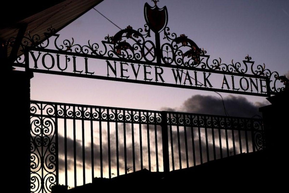 Anfield Road (Liverpool, Inglaterra) Foto:Getty Images. Imagen Por:
