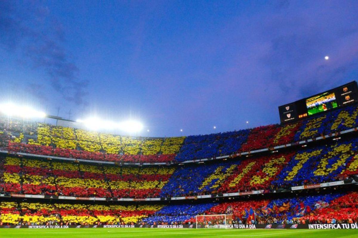 Casa del Barcelona, fue inaugurado en 1957 y tiene capacidad para 99 mil espectadores. Foto:Getty Images. Imagen Por: