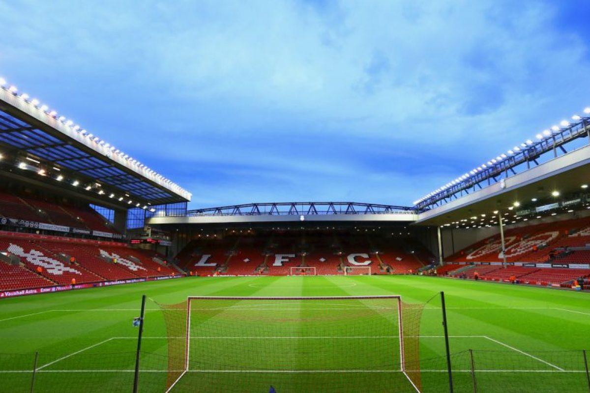 Es la casa del Liverpool FC, se inauguró en 1884 y tiene capacidad para 45 mil espectadores. Foto:Getty Images. Imagen Por: