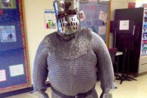 El caballero de brillante armadura. Foto:vía Imgur. Imagen Por: