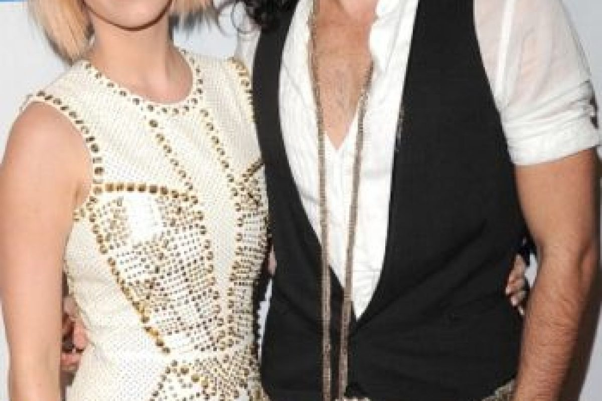 7. Katy Perry y Russell Brand Foto: Getty Images. Imagen Por: