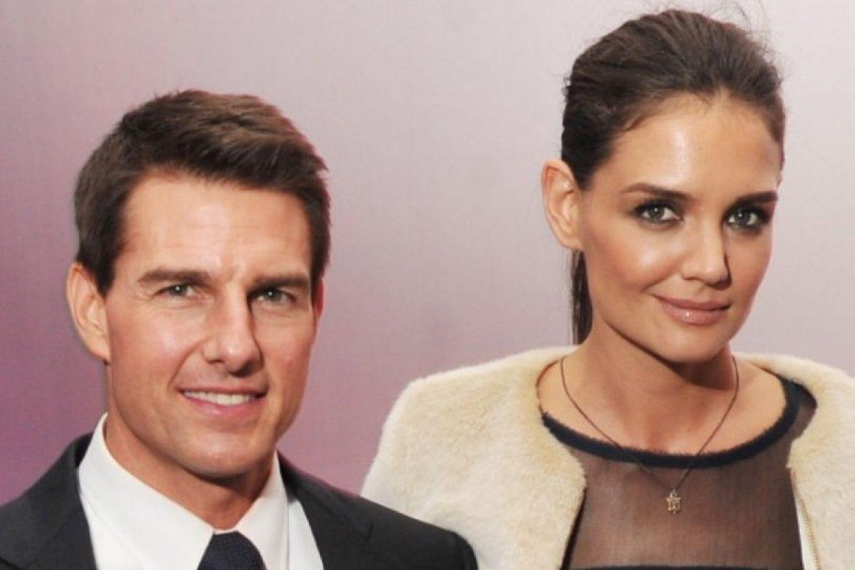 9. Tom Cruise y Katie Holmes Foto:Getty Images. Imagen Por: