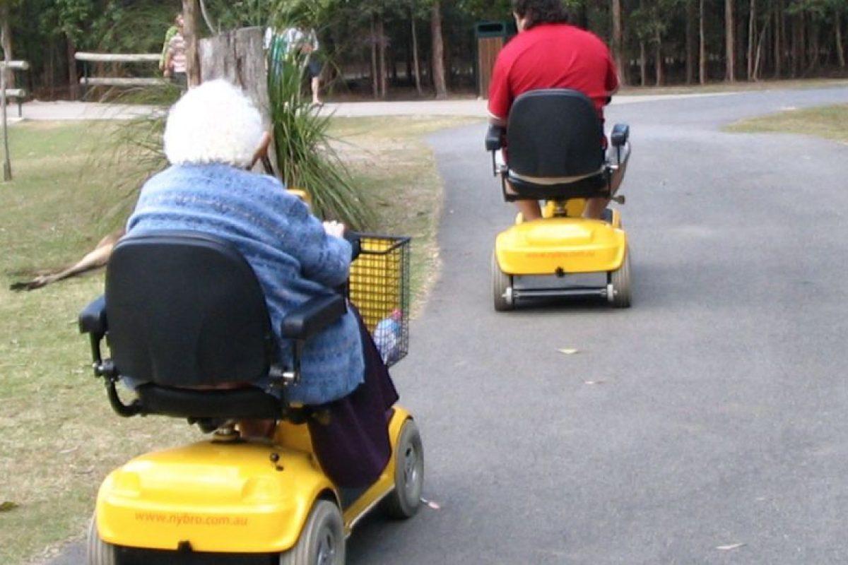 Douglas Lesch, tenía 68 años y debido a causas médicas debía usar silla de ruedas. Foto:Vía wikipedia.org. Imagen Por: