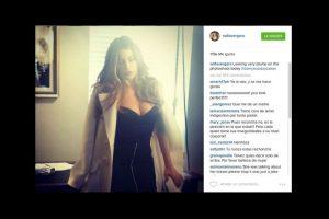 """La actriz colombiana causó gran controversia al declararse: """"Algo rechoncha en la sesión de fotos de hoy"""". Foto:vía instagram.com/sofíavergara. Imagen Por:"""