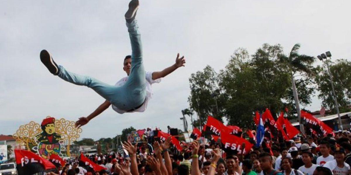 Miles de sandinistas en Managua conmemoran  el Día de la Alegría