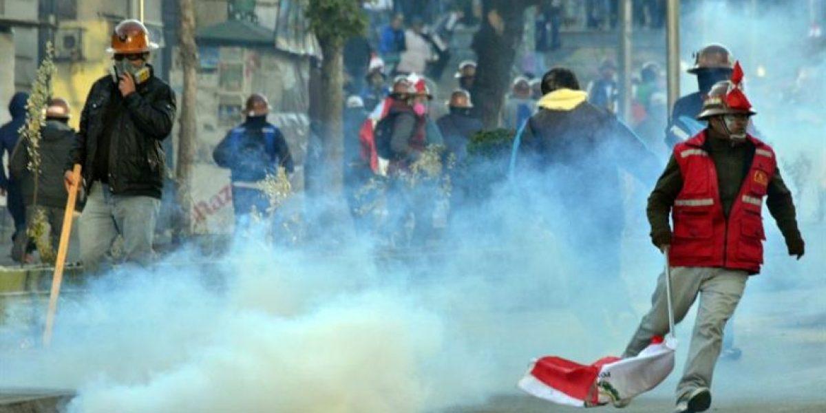 Las imágenes de las protestas en Bolivia