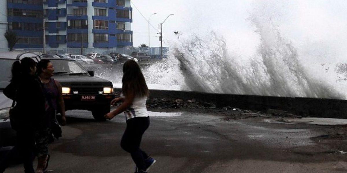 La Armada advierte sobre presencia de marejadas en la costa del país