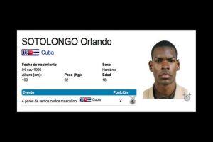 """Ellos son los remeros cubanos que """"desaparecieron"""" Foto:Vía toronto2015.org. Imagen Por:"""