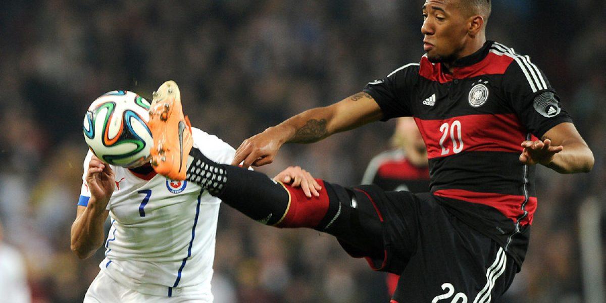 Jerome Boateng elogió a Arturo Vidal: