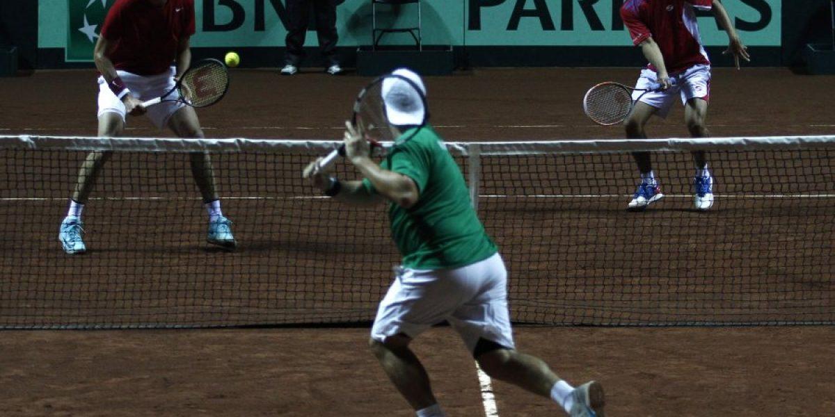 La Dupla de Oro vence en el dobles y le da la serie de Copa Davis a Chile