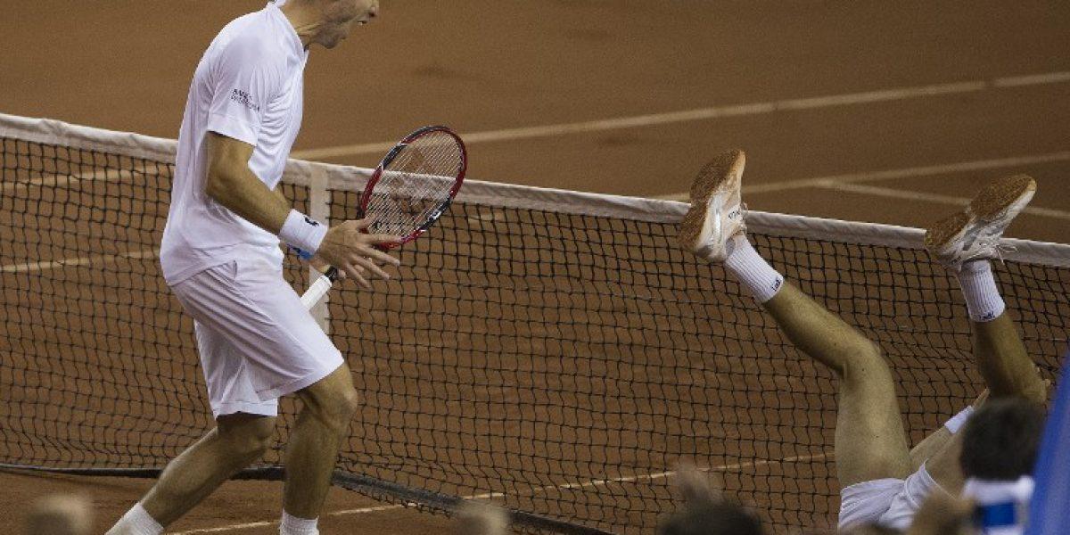 Argentina vence a Serbia y avanza a las semis del Grupo Mundial de la Davis