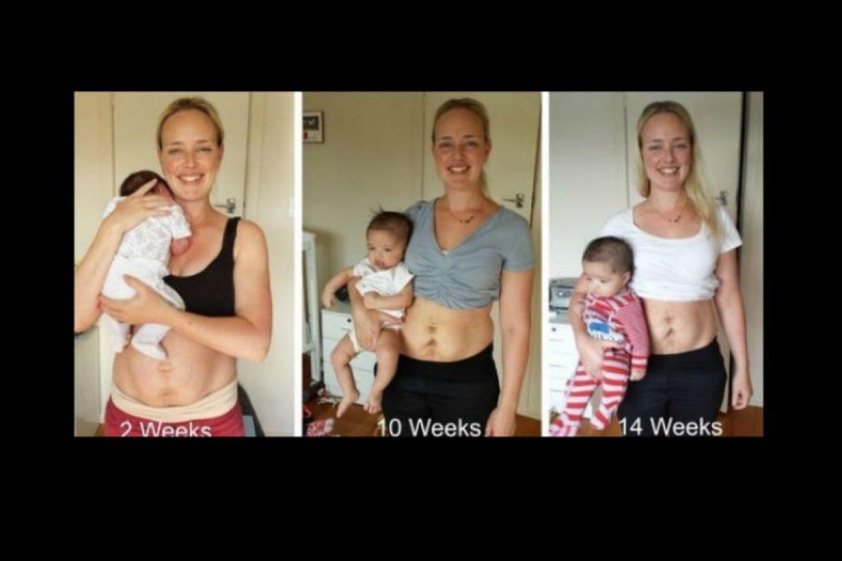 Esto lo hizo con el propósito de empoderar a las madres recientes, cuyo cuerpo cambia drásticamente luego del parto. Foto:vía Facebook /Julie Boshale. Imagen Por: