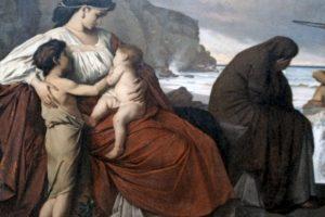 Medea, famoso personaje de la mitología griega, mató a sus dos hijos por venganza. Foto:vía Wikipedia. Imagen Por:
