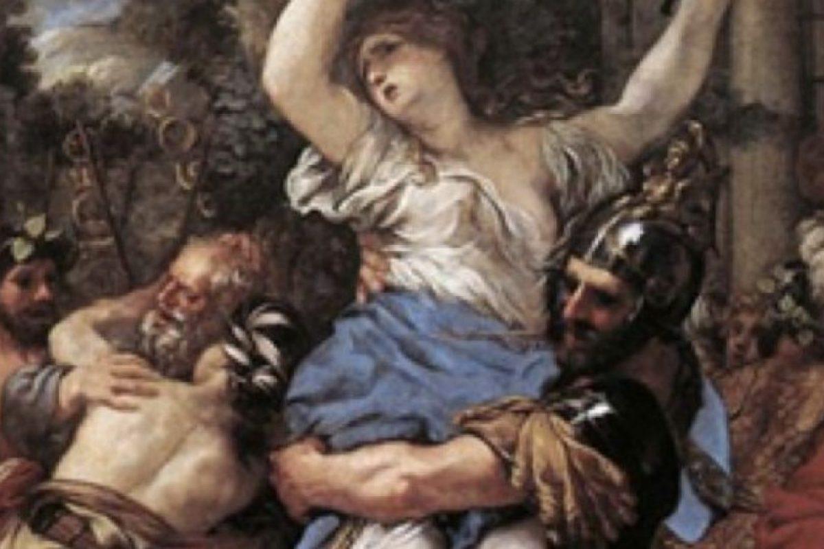 Quiomara era una noble gálata. Fue capturada por un centurión que trató de tener muchos avances con ella, pero nunca consiguió nada hasta que la violó. Foto:vía Wikipedia. Imagen Por: