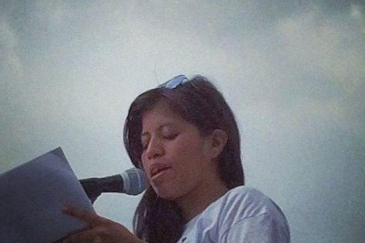 La chica se lanzó como diputada este año. Foto:vía Facebook/Yakiri Rubio. Imagen Por: