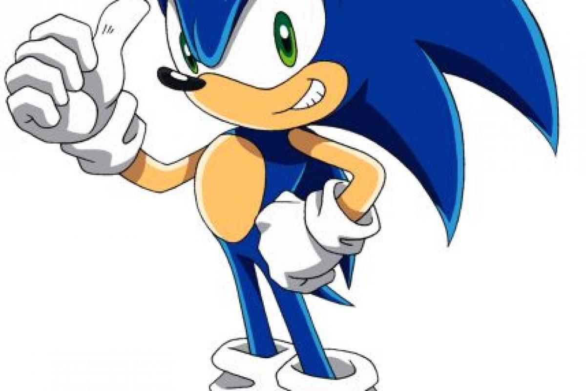 """""""Sonic the Hedgehog"""" (o """"Sonic el erizo"""") es un personaje de videojuegos y la mascota creada por y para SEGA. Foto:SEGA. Imagen Por:"""