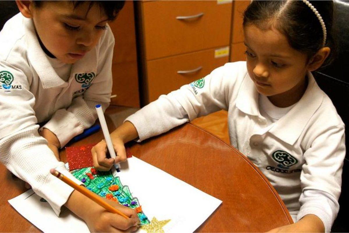 6.- Continuamente arman objetos o estructuras Foto:vía facebook.com/Centro-de-Atención-al-Talento. Imagen Por: