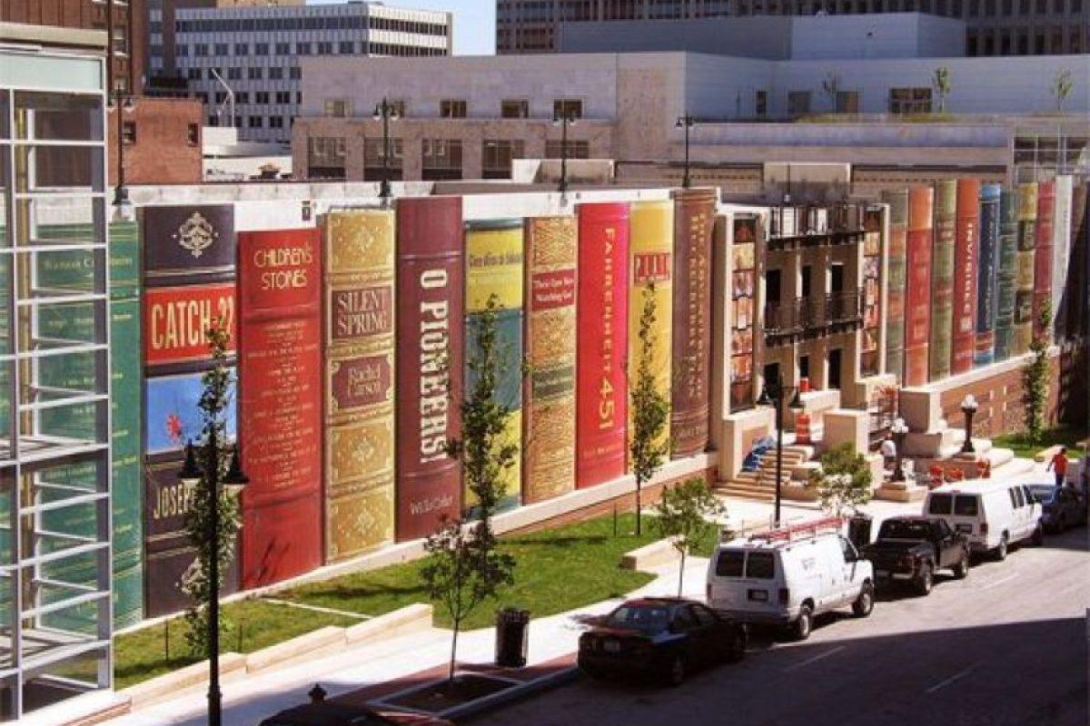 4. Biblioteca pública, Kansas, Estados Unidos. Foto:Foto reproducida. Imagen Por: