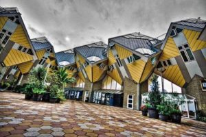15. Casas cubo, Rotterdam, Holanda. Foto:Foto reproducida. Imagen Por: