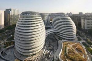 8.Galaxy Soho, Beijing, China Foto: GETTY IMAGES. Imagen Por: